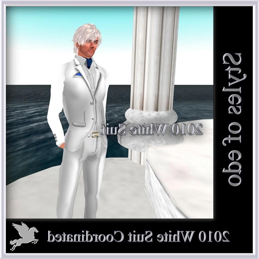 2010 White Suit Coordinateds
