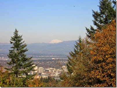 IMG_9263 View of Mount Adams from Council Crest Park in Portland, Oregon on October 23, 2007