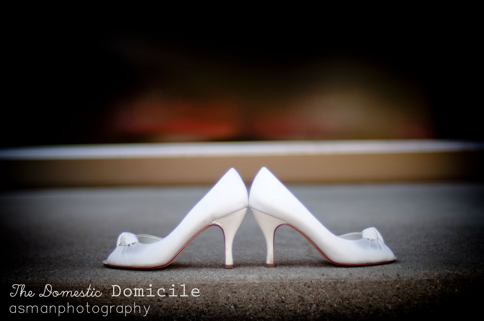 Something Blue Bridal Shoes by