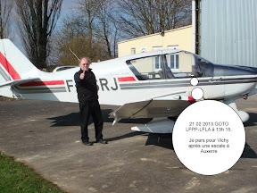 21 février 2013, dernier vol du RJ à l'ACRM