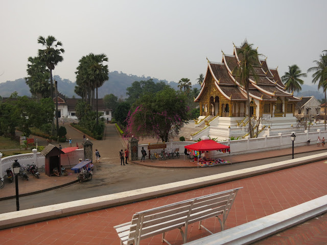 Royal Temple or Haw Pha Bang on the Palace Grounds.