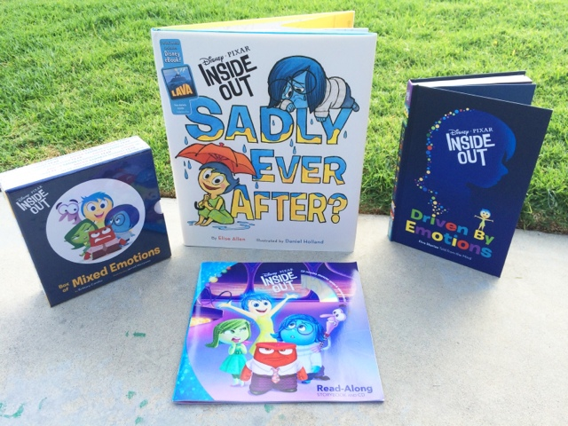Disney Pixar Inside Out Books