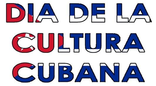 DIA DE LA CULTURA CUBANA