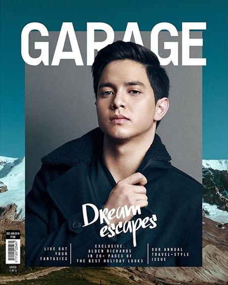 Alden Richards - Garage Travel and Style Issue