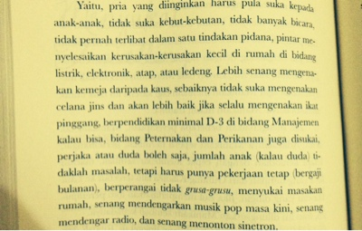 kriteria pasangan, kriteria suami, novel ayah