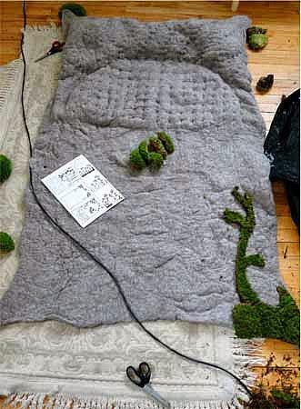 pflanzen teppich selber machen