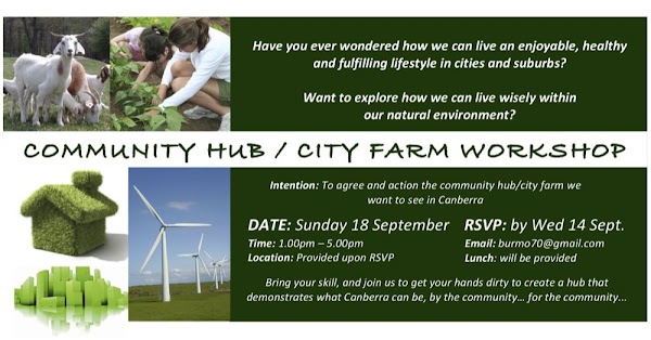city farm flyer
