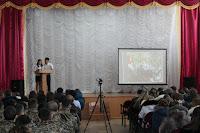 Встреча ветеранов ВОВ со студентами