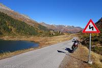 Der Obersee auf dem Scheitel des Staller Sattel (2052m).