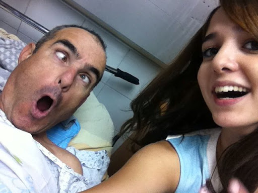 Selfies at the Hospital :-) - 5