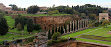 Looking Out To the Roman Forum - Rome, Italy