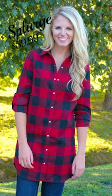 ShopbellaC plaid tunic