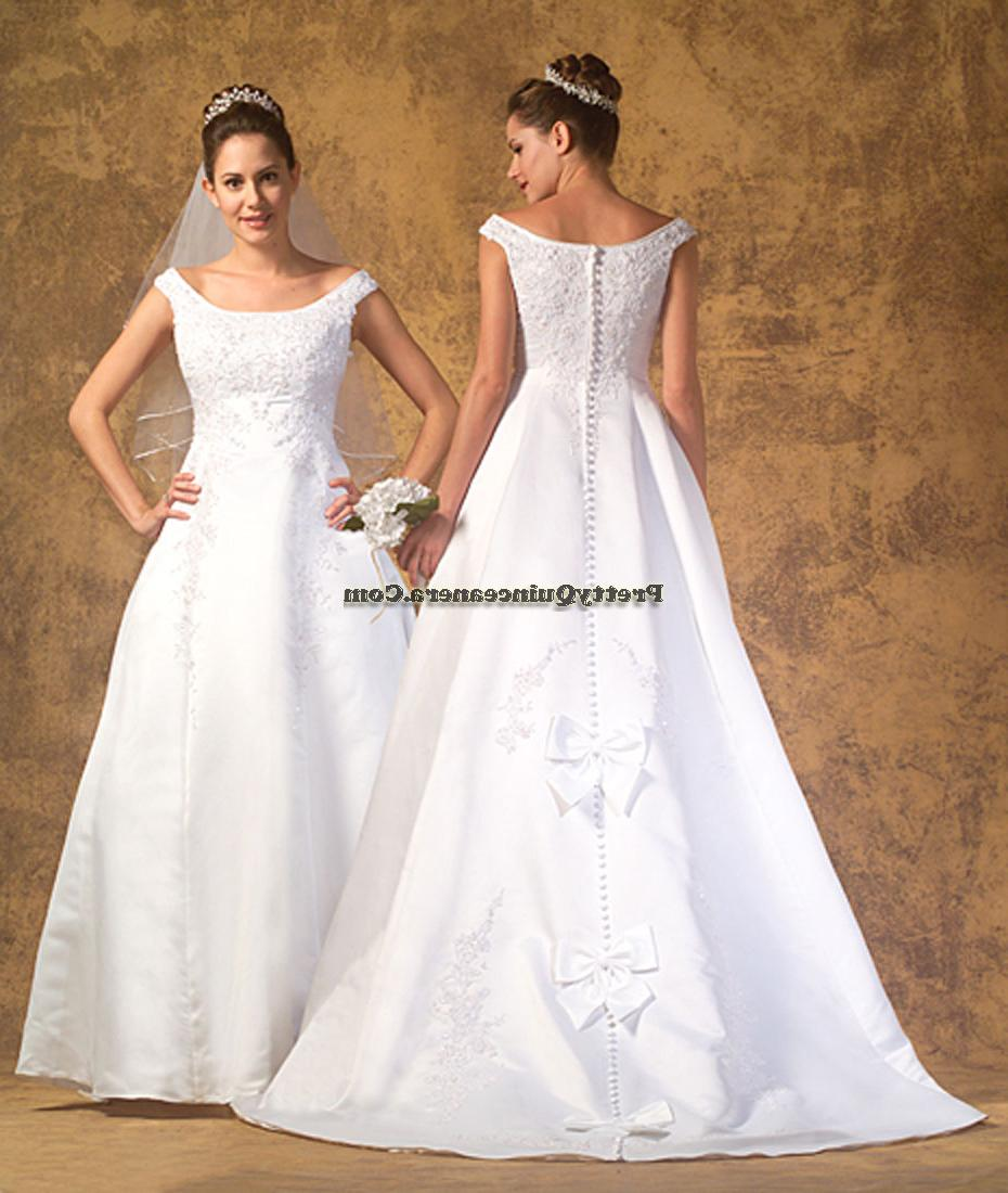 This white Quinceanera Dresses