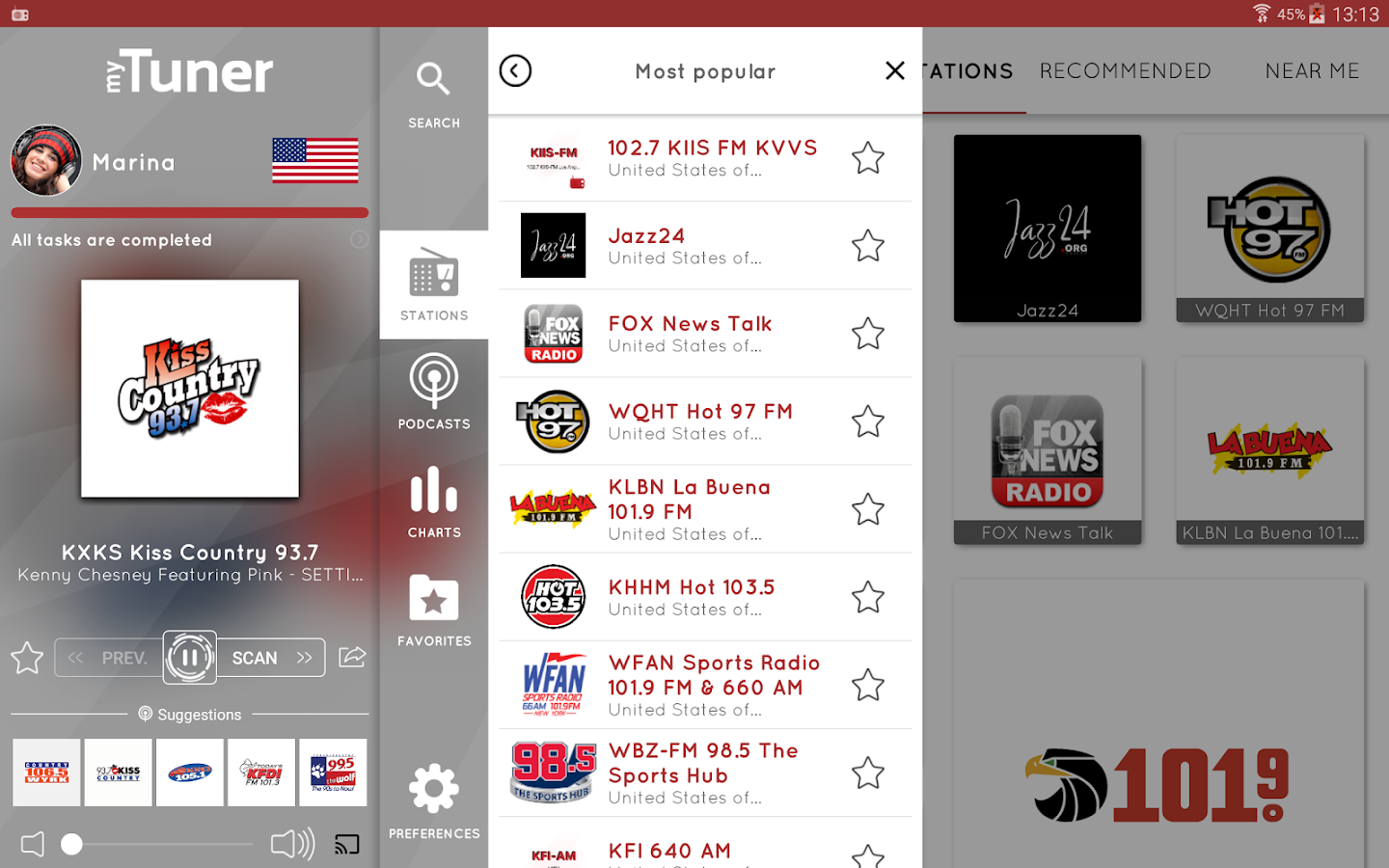 myTuner Radio Pro Screenshot 5