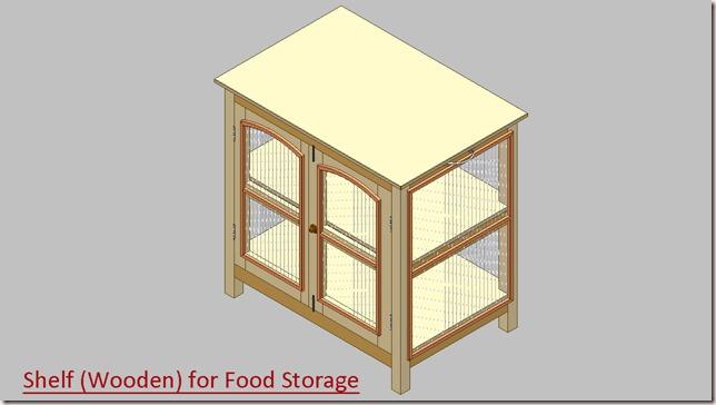 Shelf (Wooden) for Food Storage_1