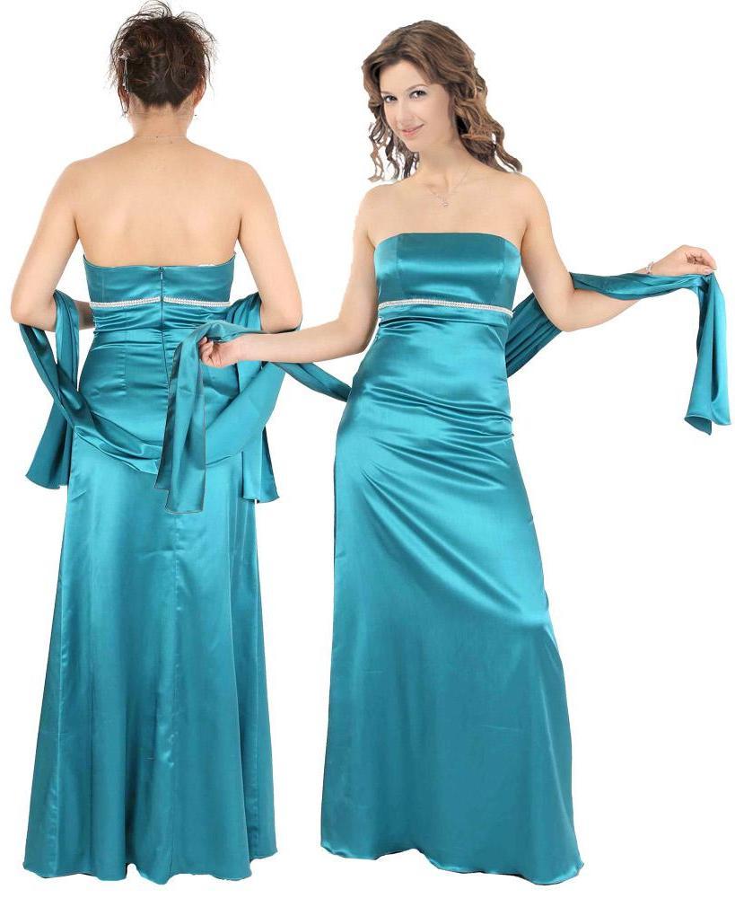 Chiffon Halter Lattice Ribbon Embellished Gown ED0021  -  155.09