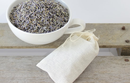 Lavender Filled Muslin Bags from Simple is Pretty Shop