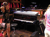 The piano on the Grand Ole Opry stage in Nashville TN 09032011