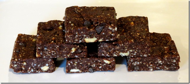 Coconut Almond Raw Chewy Fudge