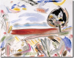 Kitaj_Hudson_River_Red_from_Troy