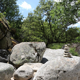 Big stones by Gil Reis - Nature Up Close Rock & Stone ( rivers, spain, places, rocks, nature, hiking, stones )