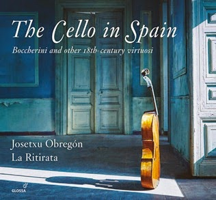 CD REVIEW: Josetxu Obregón & La Ritirata - THE CELLO IN SPAIN (Glossa GCD 923103)