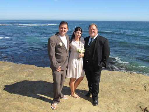 la jolla beach wedding - San