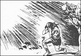 Alegoria da Caverna de Platão saída da caverna para a luz