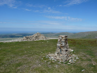 Seatallan Trig Pillar and Cairn