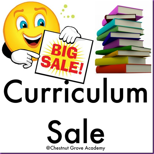 Curriculum Sale