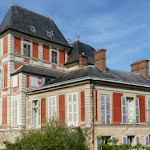 Château de Courson : angle sud-est