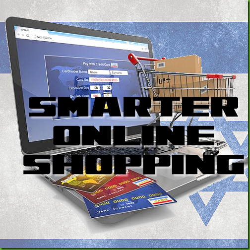 photo depicting various online shopping options in Israel