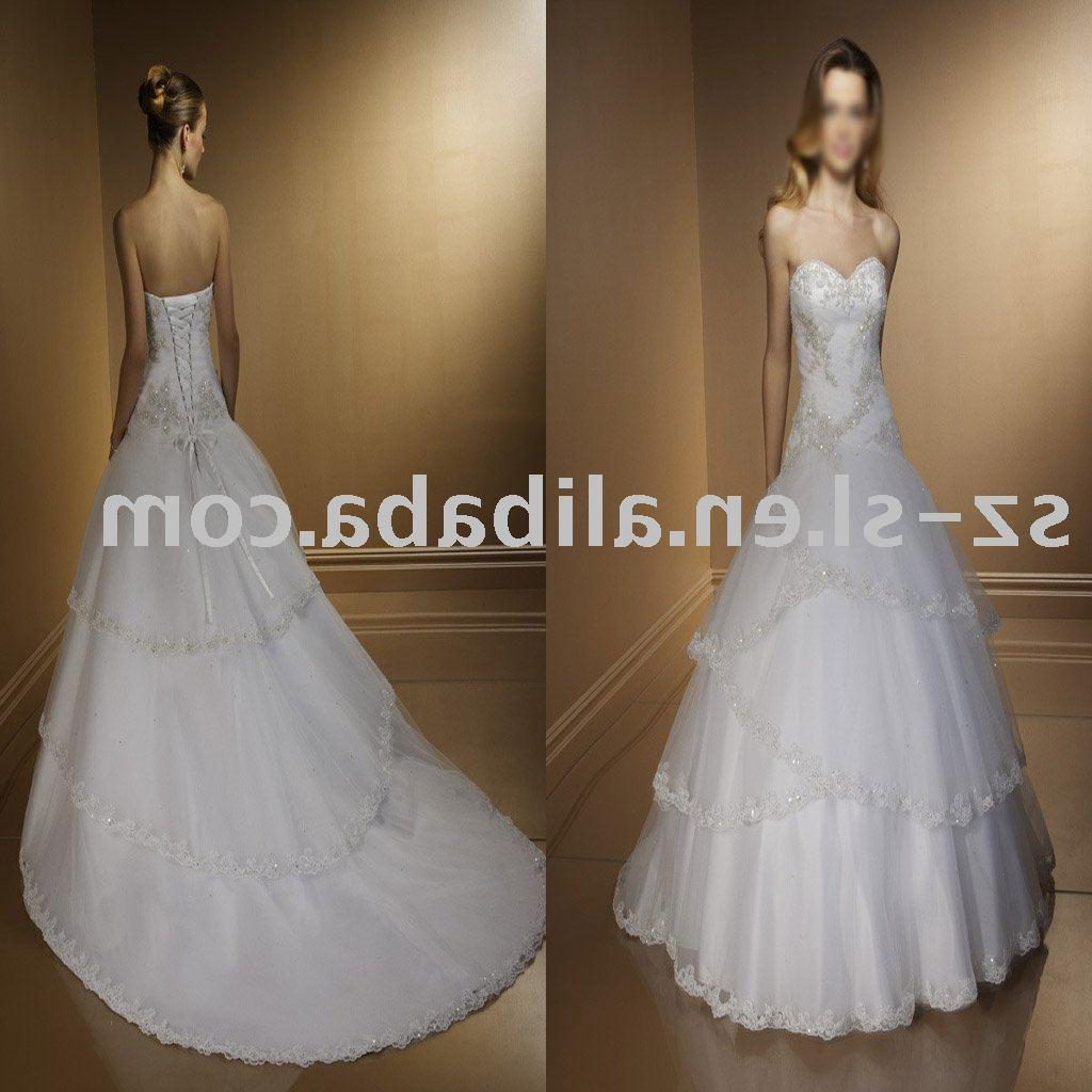 Buy ball gown wedding dress, discount wedding dress, bridal wedding dress,