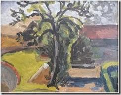 Vanessa Bell_ LG (1879-1961) Garden Path_ Charleston_ c 1924