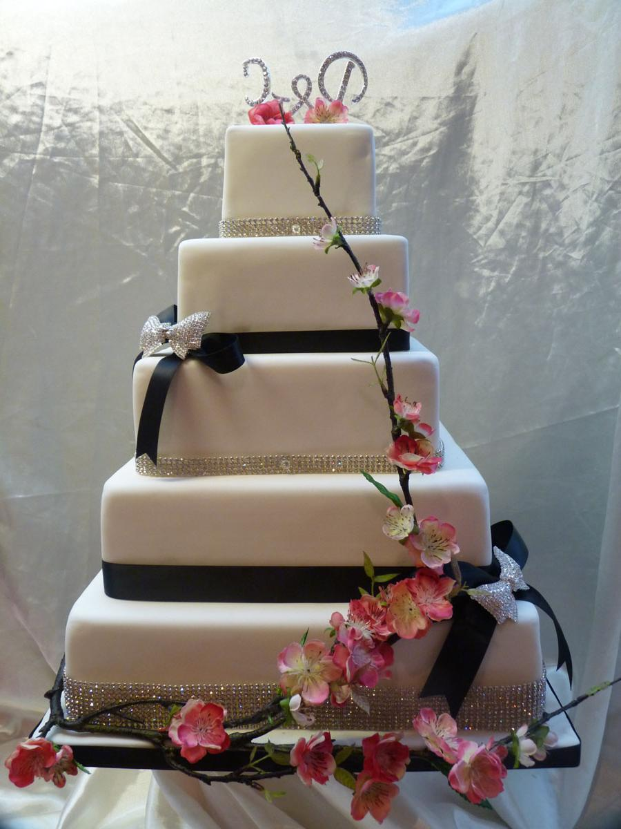 Blossom 2 Wedding cake.   150.00. Listed Under: Wedding Cakes. Blossom Bling