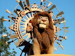 Crazy-eyed Simba