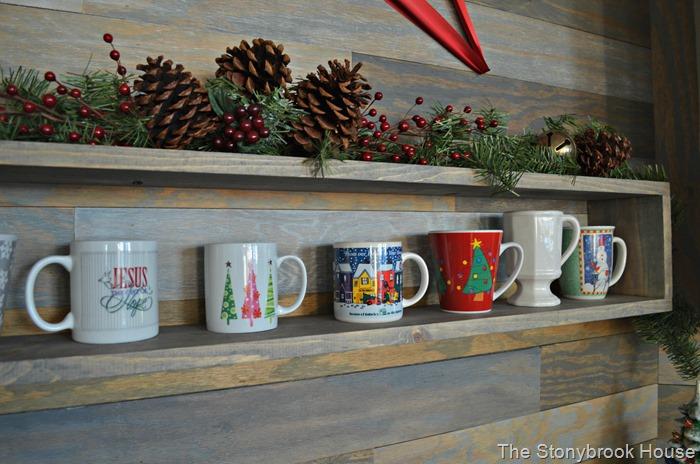 Christmas Floating Shelf