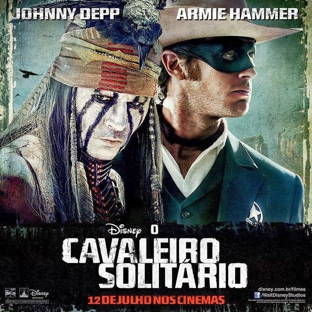 Filme Poster O Cavaleiro Solitário R5 XviD Dual Audio & RMVB Dublado