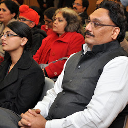 Abinash Sani with his daughter