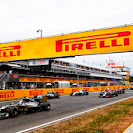 Start of the 2014 Spanish F1 Grand Prix