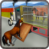 Download Full Wild Horse Zoo Transport Truck 1.1 APK