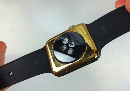 Apple watch midastouch gold 1