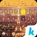 App Rainy Paris Keyboard Theme APK for Kindle