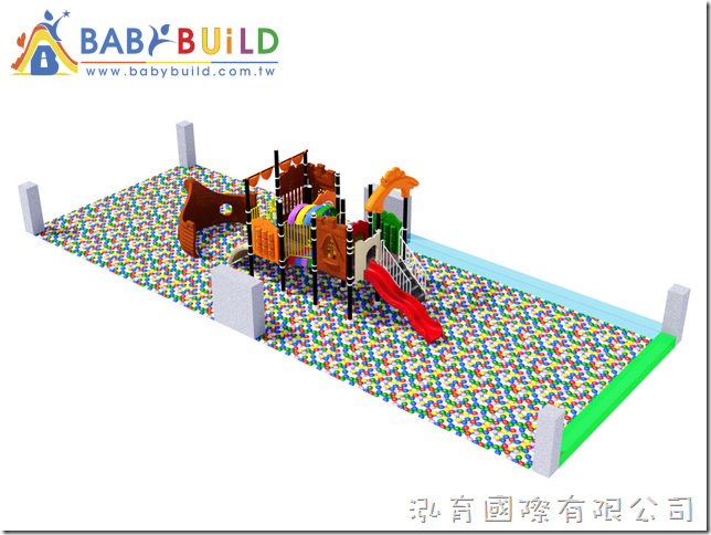 BabyBuild 度假飯店室內遊樂場設計規劃