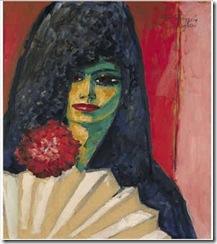 L'Espagnole à mantille, 1910