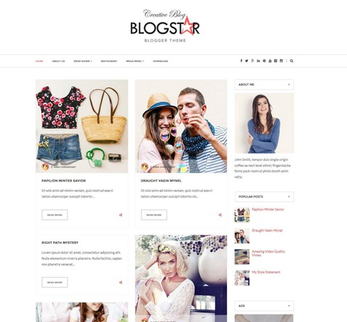 blogstar-template