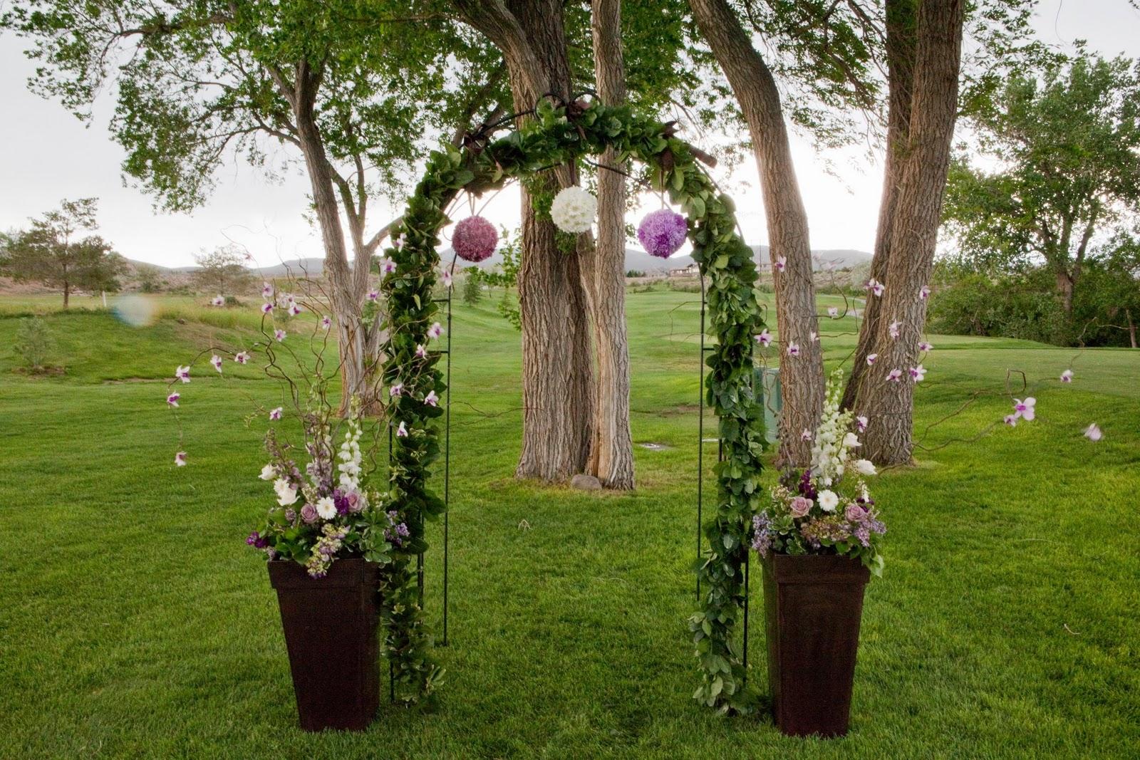 Wedding arbor decorations cake ideas and designs