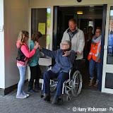 Tweede dag vierdaagse 2015 bewoners Clockstede - Foto's Harry Wolterman