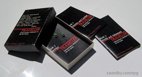 1977 Traveller Game Set