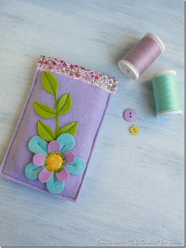 big shot sizzix-felt-flower-phone case-feltro-fiori-portacellulare (4)